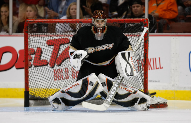 Jonas hiller Jeff Gross getty images